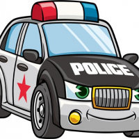 Cartoon Police Cars Puzzle