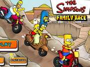 Simpsons Family Race