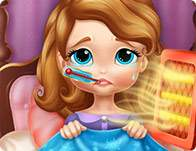 Sofia the First Flu Doctor Game