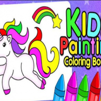 Kids Finger Painting Coloring