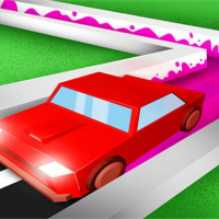 Roller Road Splat - Car Paint 3D‏